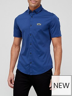 boss-biadia-r-short-sleeve-oxford-shirt-navy