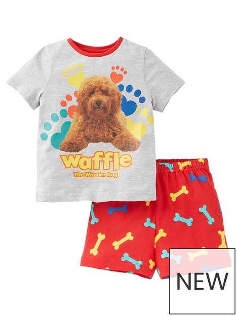 character-unisexnbsppaw-print-shorty-pjs-grey