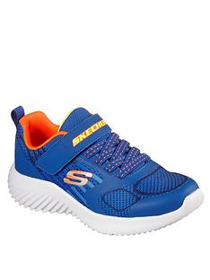 skechers-bounder-gorven-trainer-blue