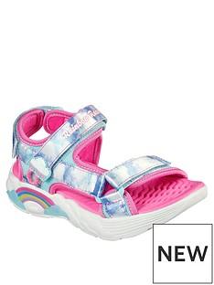 skechers-rainbow-racer-sandal-blue