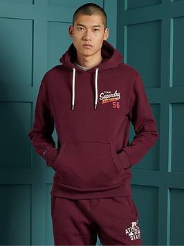 superdry-classic-logo-hoodie-burgundy