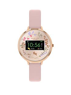 radley-series-3-smart-watch-with-blush-floral-print-screen-and-pink-strap-ladies-watch