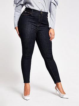 ri-plus-high-waist-skinny-jean-dark-blue