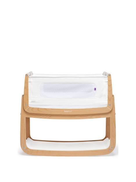 snuz-snuzpod-4-bedside-crib-with-mattress-natural
