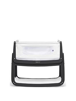 Snuz Snuzpod 4 Bedside Crib With Mattress - Slate