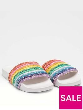 lelli-kelly-iris-rainbow-slider-white