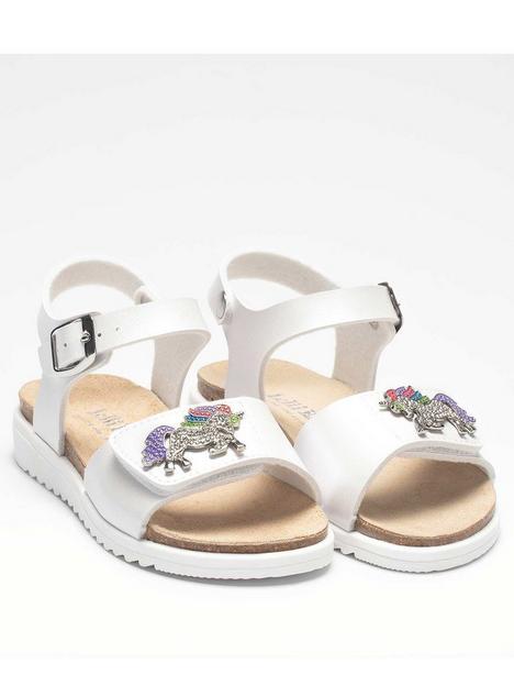 lelli-kelly-unicorn-sandal-white