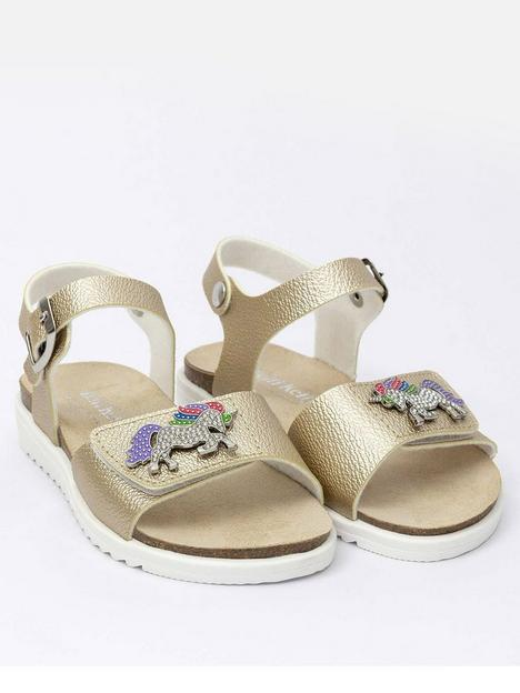 lelli-kelly-unicorn-sandal-gold