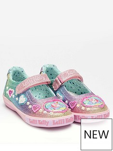 lelli-kelly-gem-glitter-dolly-unicorn-shoe-multi