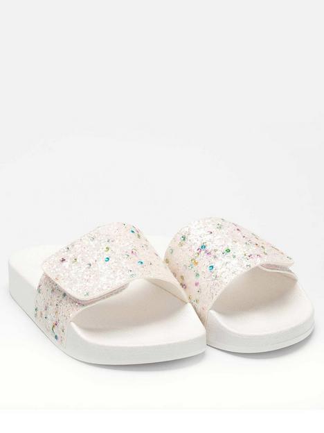 lelli-kelly-barbara-sequin-slider-white