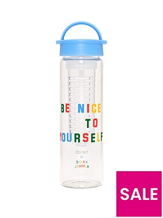 bando-glassnbspinfuser-be-nice-to-yourselfnbspwater-bottle