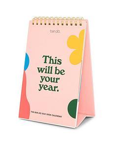 bando-best-year-ever-desk-calendar-2021