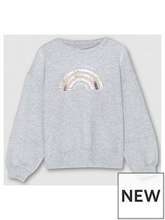 mintie-by-mint-velvet-girls-foil-rainbow-sweatshirt-grey
