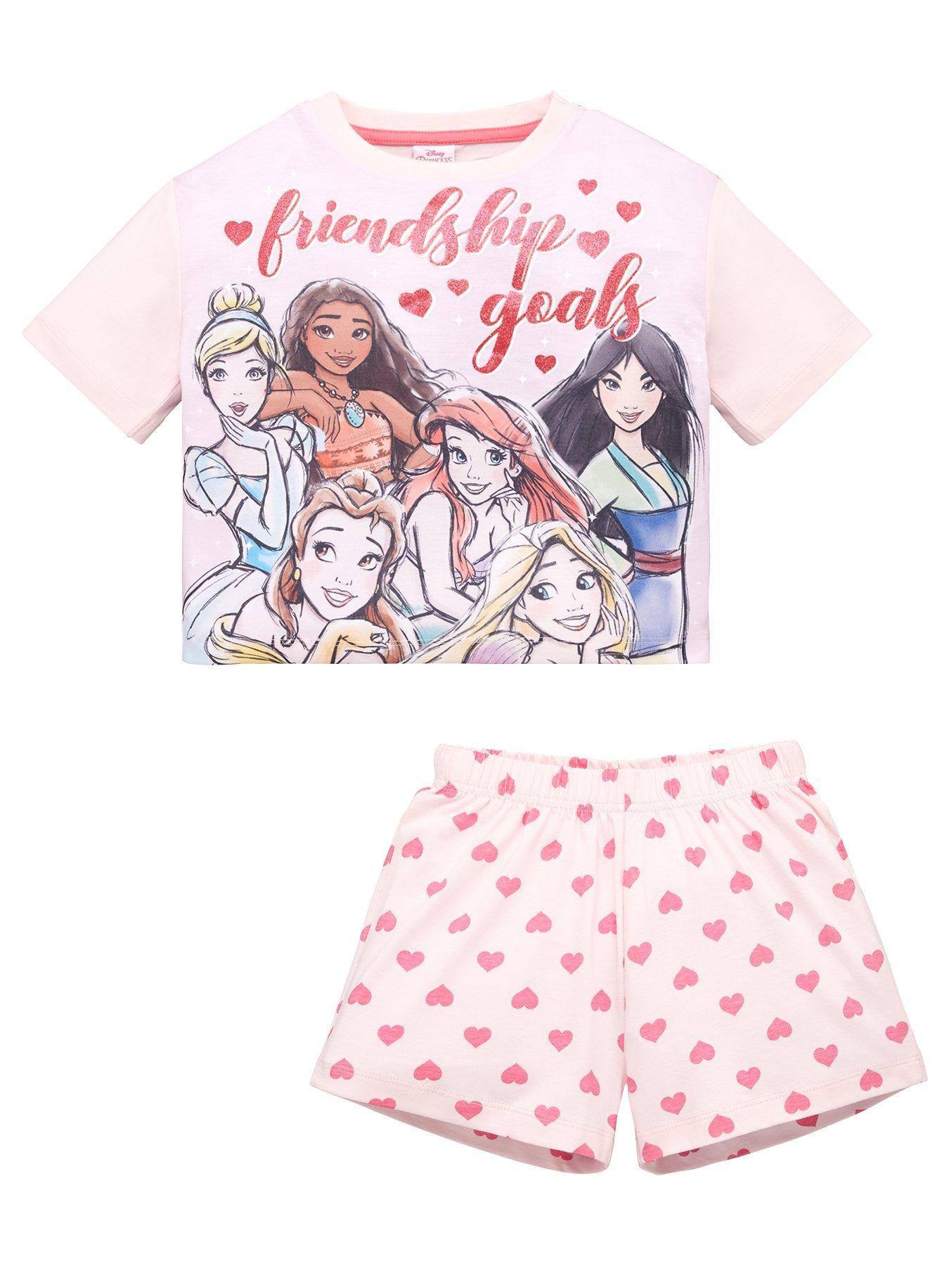 Girls Top Uk High Street Unicorn Pyjama Set Shortie Pyjamas Cotton M S L Age