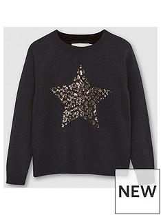 mintie-by-mint-velvet-girls-sequined-star-jumper-black