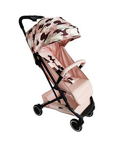 my-babiie-am-to-pm-christina-milian-mbx1-blush-camo-compact-stroller
