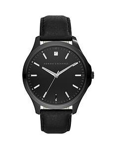 armani-exchange-hamptonnbspblack-and-silver-detail-dial-black-leather-strap-mens-watch