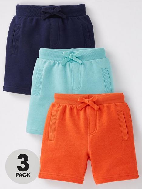 mini-v-by-very-boys-essential-jog-shorts-3-packnbsp--multinbsp