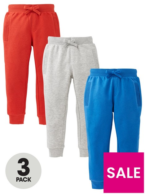 mini-v-by-very-boys-essential-3-pack-joggers-red-blue-amp-grey