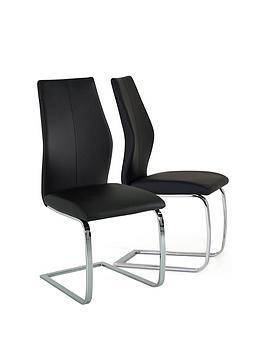 vida-living-enis-pair-of-dining-chairs-black
