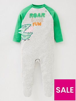 peppa-pig-baby-boys-george-pig-roarsome-fun-babygrow-with-dino-details-grey