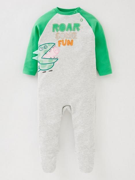 peppa-pig-baby-boys-george-pig-roarsome-fun-babygrow-with-dino-details
