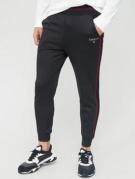 sik-silk-imperial-cuffed-joggers-black