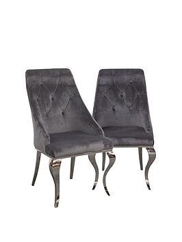 vida-living-primrose-pair-ofnbspfabricnbspdining-chairs-grey