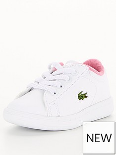 lacoste-carnaby-evo-infant-0120-infant-strap-trainers-whitepink