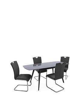 vida-living-amara-120-180-cm-extending-dining-table-grey