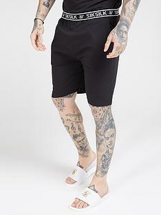 sik-silk-loose-fit-jersey-shorts-blacknbsp