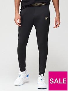 sik-silk-element-muscle-fit-cuffed-jogger-blacknbsp