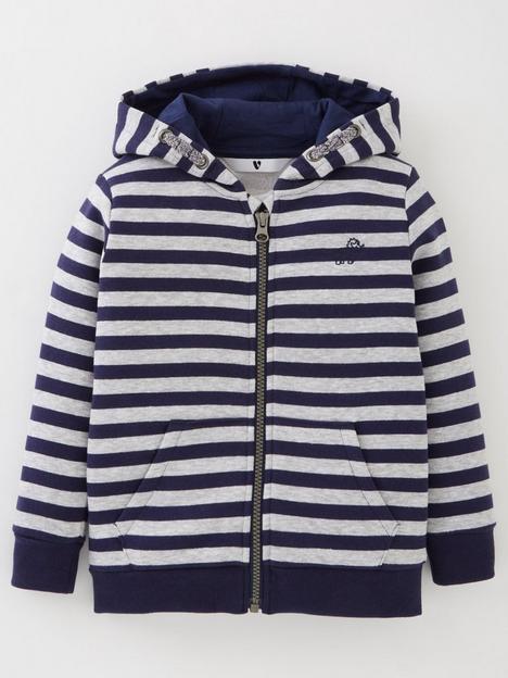 mini-v-by-very-boys-essential-zip-striped-through-hoodie-navy-grey