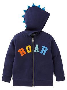 mini-v-by-very-boys-roar-zip-through-hoodie-navy
