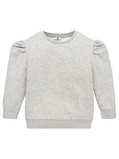 v-by-very-girls-essential-puff-sleeve-sweat-grey
