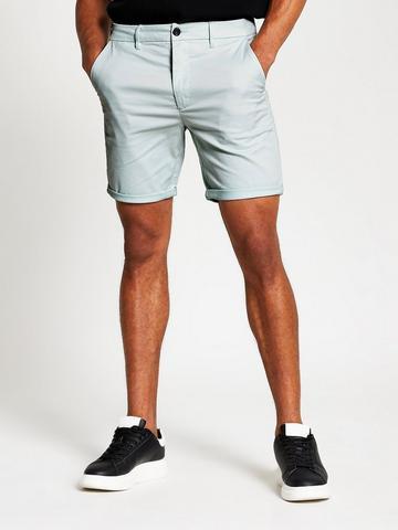 "Tommy Hilfiger 9/"" Shorts Seafoam Green Shorts Mens 34 New"