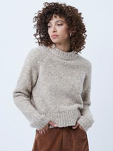 french-connection-kate-crew-neck-jumper--oatmeal