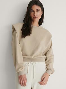 na-kd-shoulder-detail-sweatshirt-beige