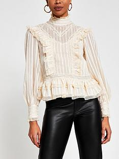 river-island-victoriana-frill-detail-blouse-ivory