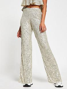 river-island-sequin-wide-leg-trouser-silver