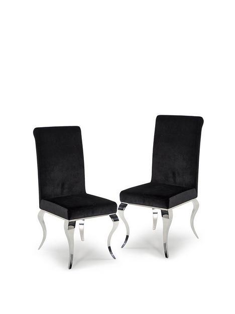 vida-living-ohio-pair-of-fabric-dining-chairs-black