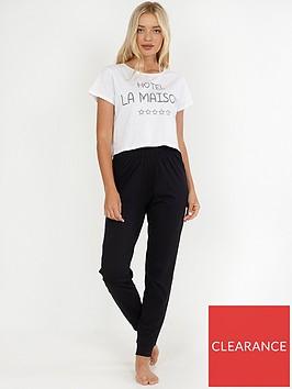 brave-soul-hotel-la-maison-pj-trouser-set-black