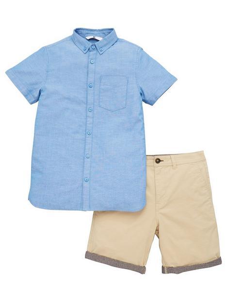 v-by-very-boys-oxford-shirt-and-chino-short-set-bluestone