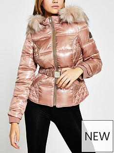 river-island-faux-fur-hood-quilted-popper-padded-jacket-pink
