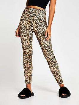 river-island-leopard-print-legging-brown