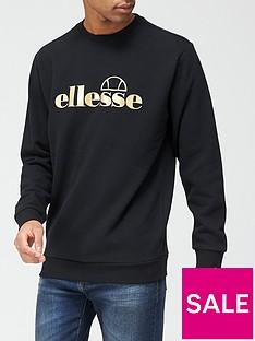 ellesse-rivea-sweatshirt-blackgoldnbsp
