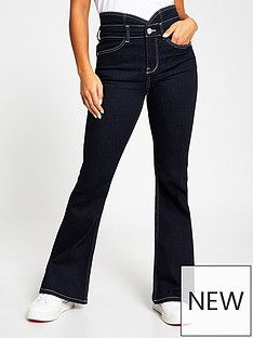 ri-petite-high-waist-flare-jean-mid-blue