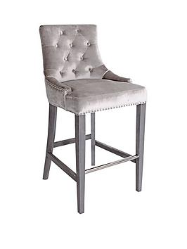 vida-living-ingrid-bar-chair-champagne