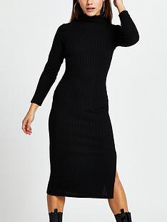 ri-petite-ri-petite-high-neck-cosy-jersey-midi-dress-black