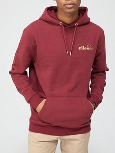 ellesse-tonel-pullovernbsphoodie-burgundy